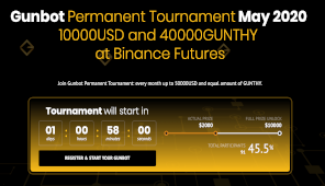 Over 130 participants, over 90 with a positive PNL: this is Gunbot Tournament....dont miss it! 1