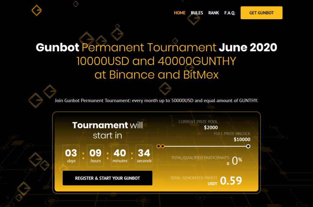 New Gunbot Permanent Tournament - June 2020 1
