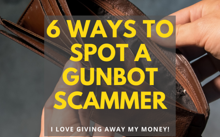 "Read NOW! 6 Ways to Spot a ""Gunbot Scammer"" - Don't Get Scammed! 15"