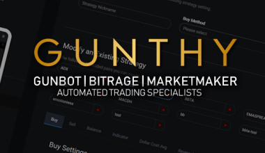 Gunbot - What's New This Week 31