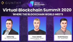 Gunbot at Virtual Blockchain Summit 1