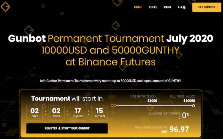 New Gunbot Permanent Tournament - July 2020 1