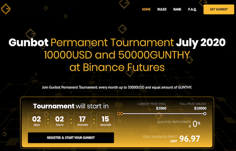 New Gunbot Permanent Tournament - July 2020 1