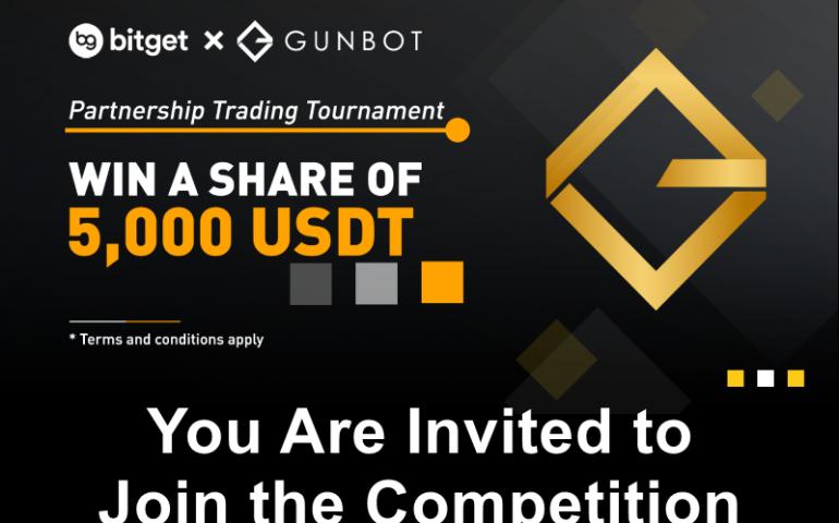 gunbot bitget trading competition promo