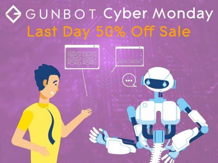 gunbot cyber monday sale