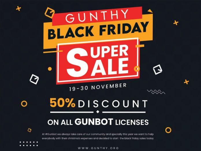 gunbot black friday sale now