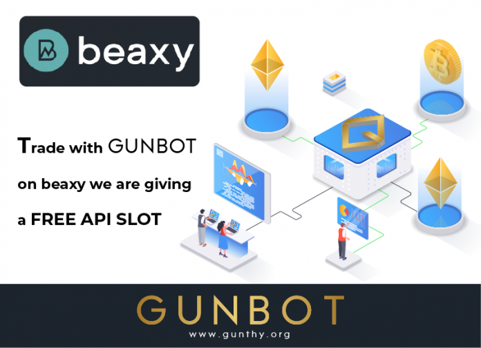 gunbot integrated beaxy promo
