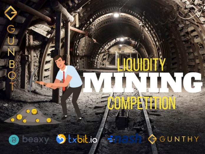 gunthy liquidity mining