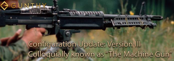gunbot Version III: The Aggressive Machine Gun