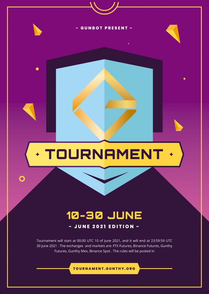 Gunbot Crypto Trading Competition June 2021 2