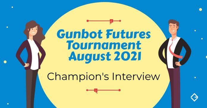 gunbot tournament futures winners august